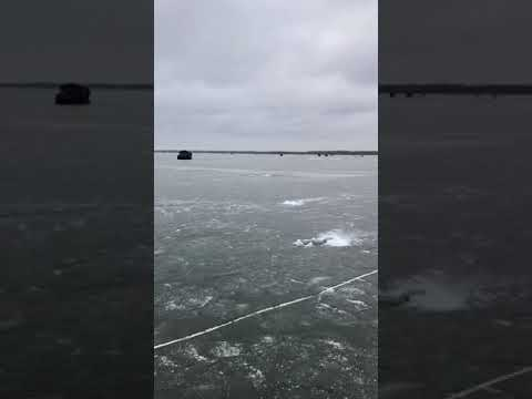 Upper Red Lake, MN 11/18/17 Ice Fishing Report..