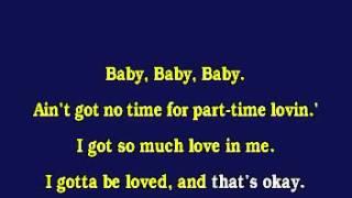 Jv1002 12 Tlc Baby Baby Baby [karaoke]
