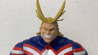 """My Hero Academia McFarlane Toys All Might 7"""" Action Figure Review"""