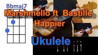 Baixar Marshmello ft  Bastille Happier Ukulele Cover