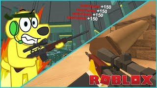 SNIPER OWNAGE! Roblox BAD BUSINESS Sniping