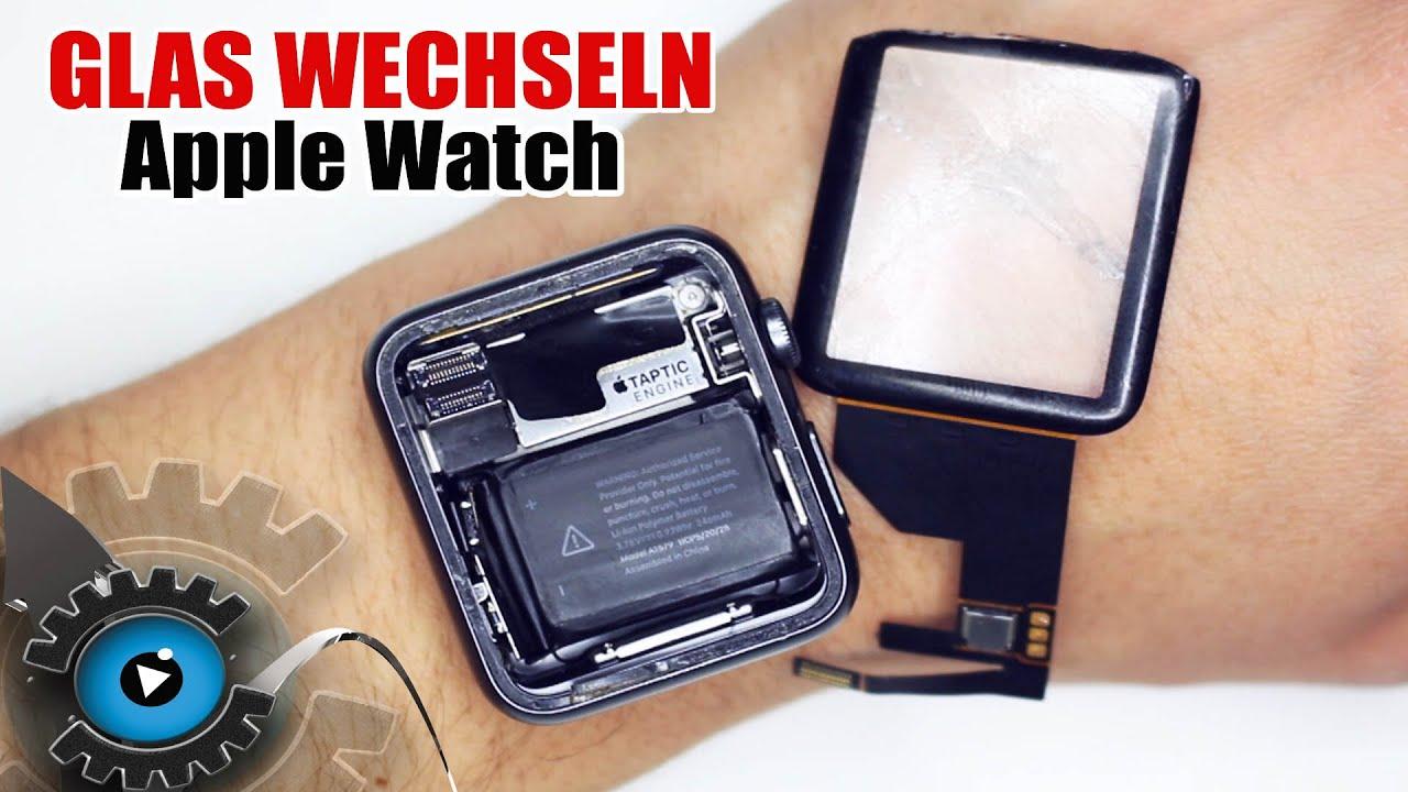 apple watch glas digitizer wechseln tauschen reparieren. Black Bedroom Furniture Sets. Home Design Ideas