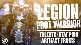 Legion Tanks: Best Prot Warrior Talents, Artifact Traits & Stat Priorities