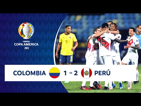 Colombia Peru Goals And Highlights