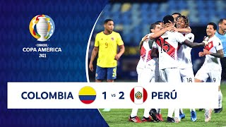 HIGHLIGHTS COLOMBIA 1 - 2 PERÚ | COPA AMÉRICA 2021 |