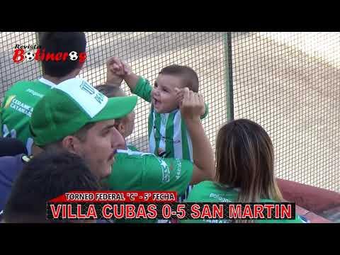 Federal C-Villa Cubas 0 vs San Martin del Bañado 5