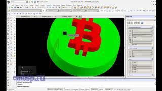 CorelCAD уроки. Вектор AI в CorelDRAW в CorelCAD в  модель для 3D печати