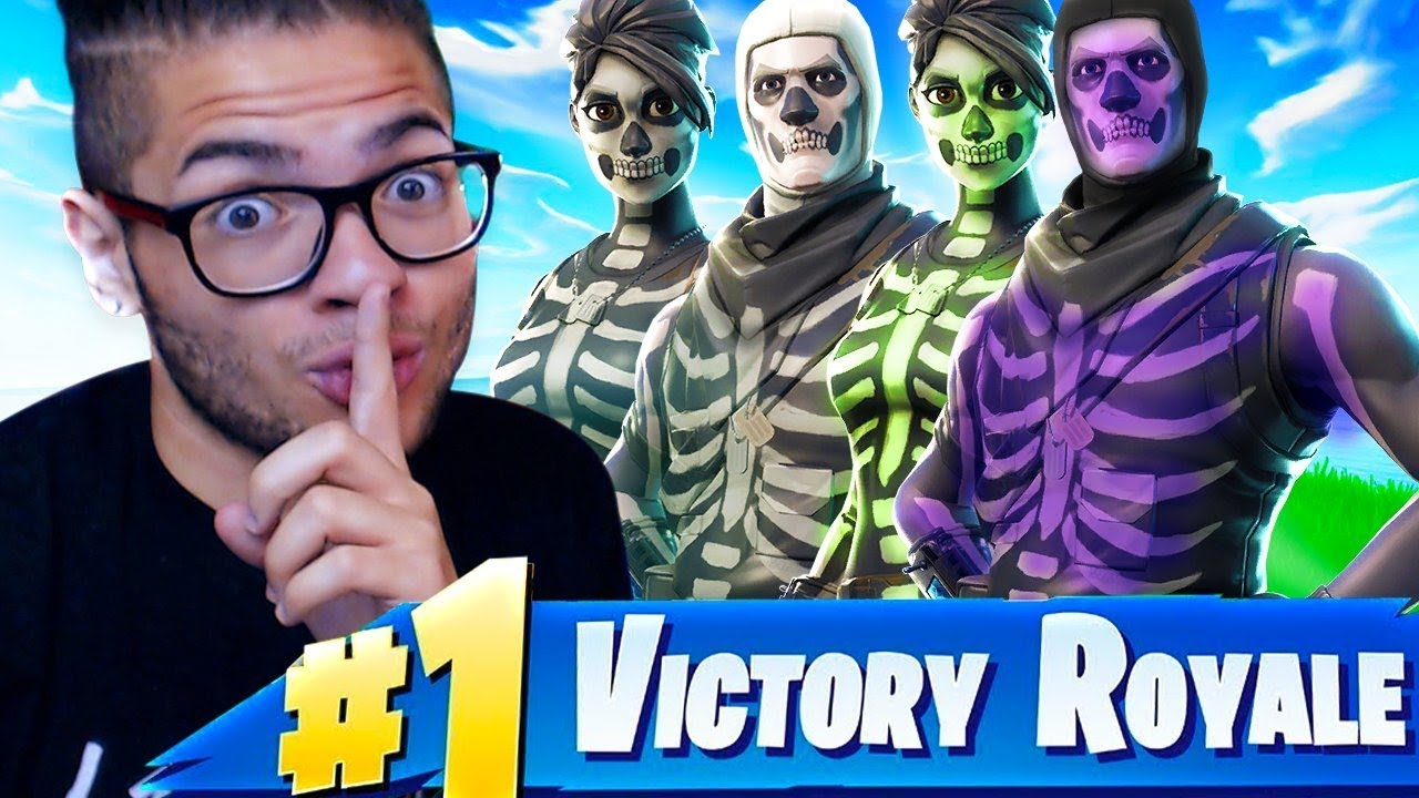 SURPRISING THE SQUAD WITH SKULL TROOPERS! OG SQUAD DOMINATES