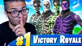 SURPRISING THE SQUAD WITH SKULL TROOPERS! OG SQUAD DOMINATES FORTNITE BATTLE ROYALE! SKULL RANGER!!