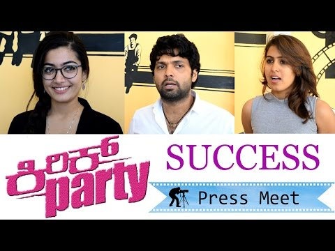 Kirik Party - Success Press Meet | Rakshit...