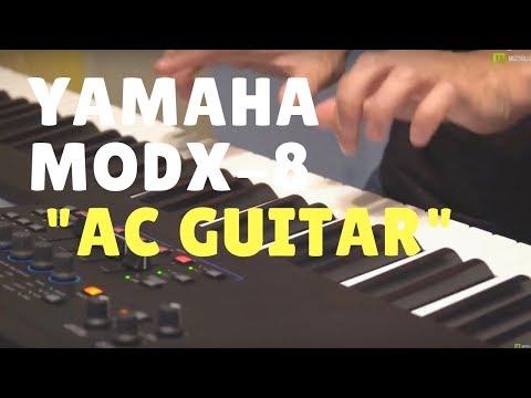 Nagrania dla muzykuj.com – Yamaha MODX-8 AC Guitar  – Yamaha MODX-8 gra: Kamil Barański www.muzykuj.com