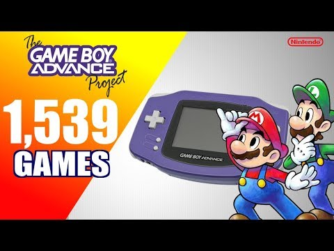The Game Boy Advance Project - All 1539 GBA Games - Every Game (US/EU/JP)
