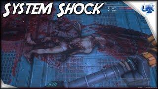 System Shock Remaster Pre Alpha Gameplay Walkthrough - KickStarter Project | PC