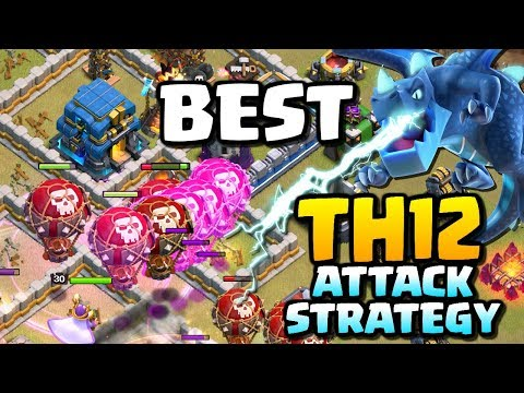 BEST TOWN HALL 12 ATTACK STRATEGY | TH12 Lavaloon 3 Stars | Clash of Clans