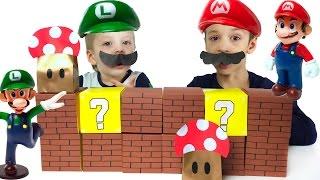 видео Марио и Луиджи: в мире животных  в новом приключении про животных