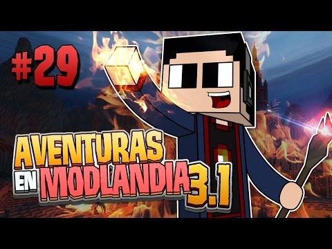 "Minecraft: Aventuras en Modlandia 3.1 Ep. 29 ""Lava Transdimensional, Regreso a la Magia"""