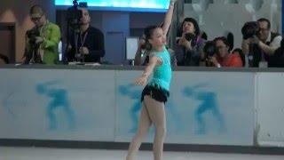 2016 hk figure skating championships novice girl sp kahlen
