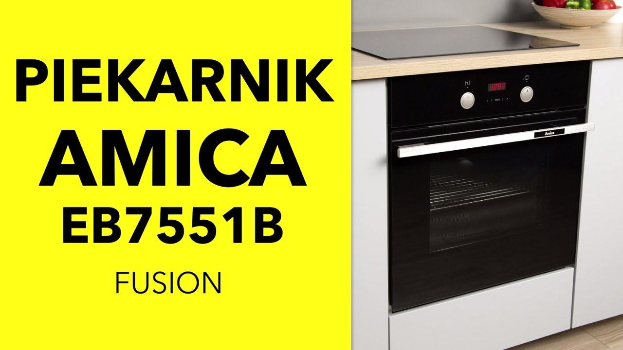 Amica Piekarnik Eb7551b Fusion Dane Techniczne Rtv Euro Agd
