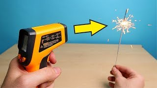 Is it possible to measure the temperature of the Sparkler? Pyrometer from China. alex boyko