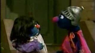 Sesame Street: Baby Bear plans to draw Hero Guy/Super Grover