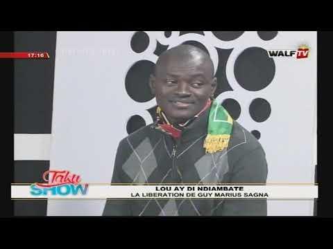 Libération GUY M SAGNA Lou aye di ndiambate TAKU SHOW DU 15-01-2020 - WALFTV