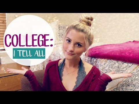 MY COLLEGE EXPERIENCE: BOYS & EMBARRASSING MOMENTS | Tasha Farsaci