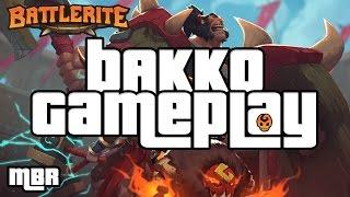 Battlerite | Bakko Gameplay | 2 V 2 | Molten WarHound Mount