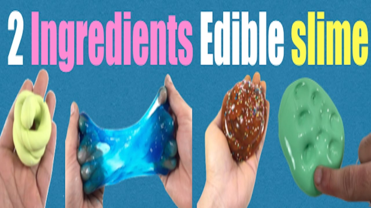 2 ingredients edible slime easy no glueborax or baking soda slime 2 ingredients edible slime easy no glueborax or baking soda slime for beginners ccuart Images