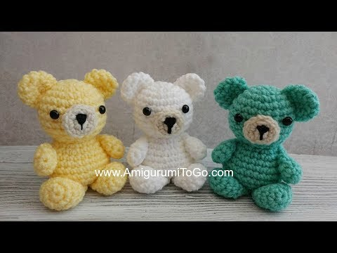 Tiny amigurumi, all made from the same (free!) pattern. Site is in ... | 360x480