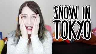 that time it snowed in Tokyo in November