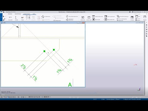 Tekla Structures - Dimensioning Tips