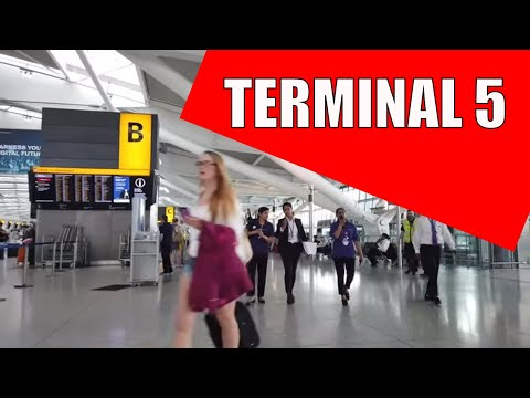 Heathrow Terminal 5 | Walking And Boarding