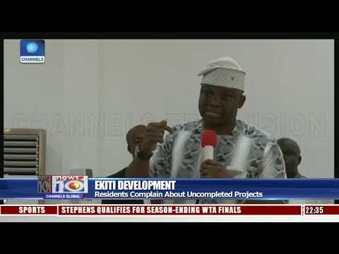 Ekiti Residents Complain About Uncompleted Projects
