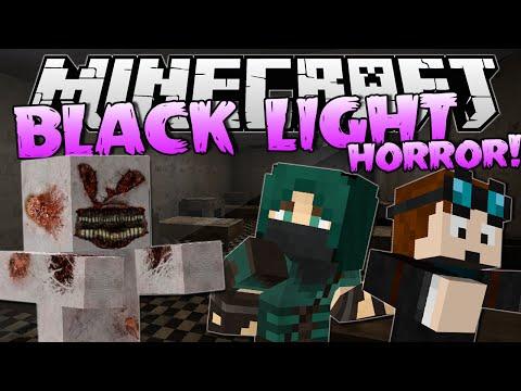 BLACK LIGHT w/ThnxCya   Minecraft Horror