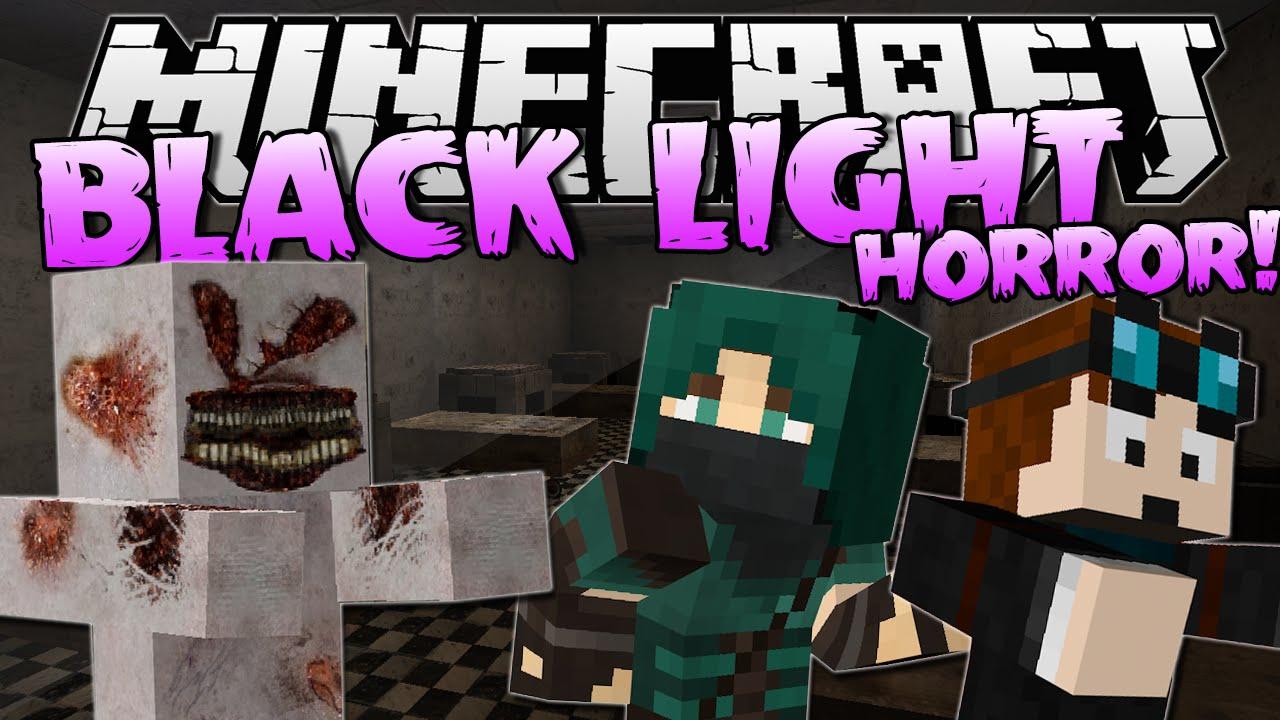 BLACK LIGHT w/ThnxCya | Minecraft Horror