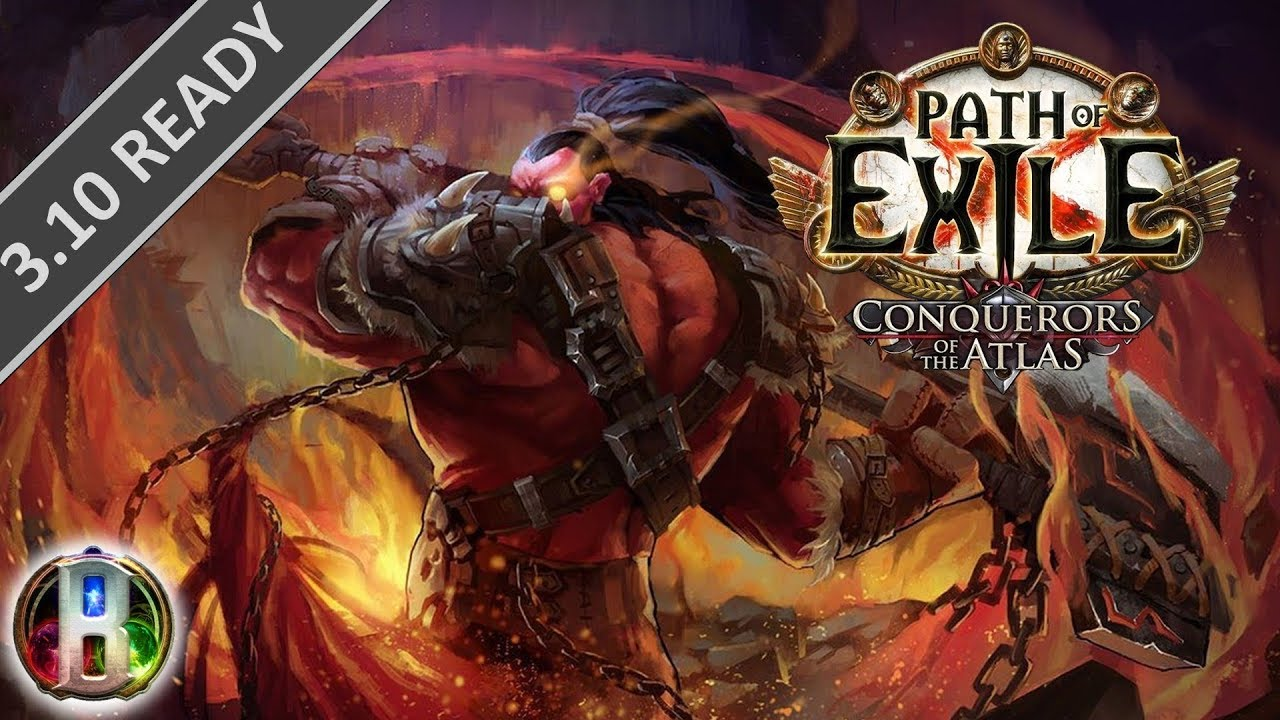 Path of Exile Legion 3 7: Fire Cyclone Build-Chieftain Marauder