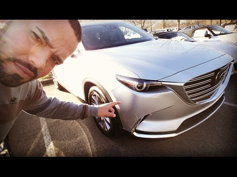 2016 Mazda CX-9 Grand Touring Review and Test Drive