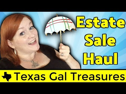 Vintage & Jewelry Estate Sale, Garage Sale, Thrift Haul – $30 into ? Treasures Resell EBay and Etsy