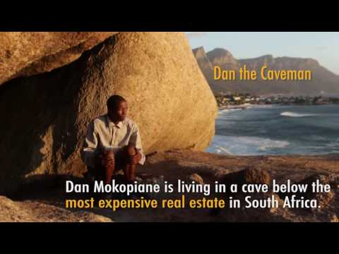 Meet the Clifton cavemen, living rent free on South Africa's most expensive street