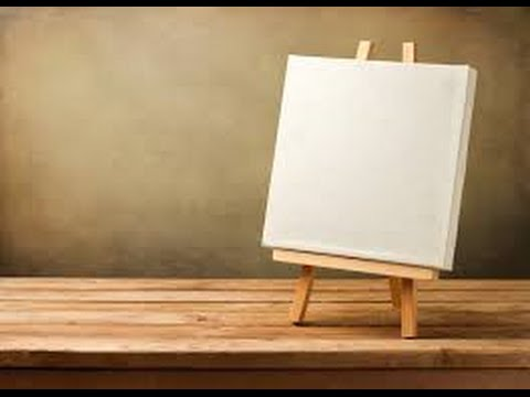 Your life is like a blank canvas how will you paint it for What to do with a canvas