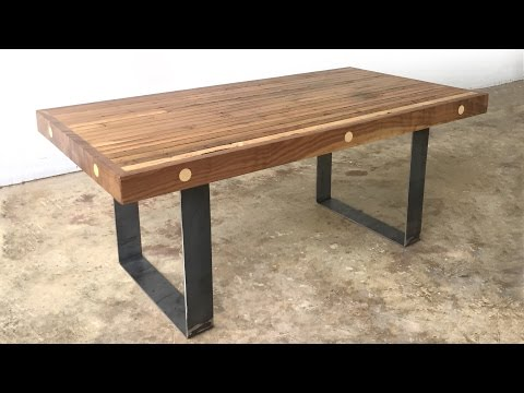 DIY Bowling Alley Coffee Table | Modern Builds | EP. 36