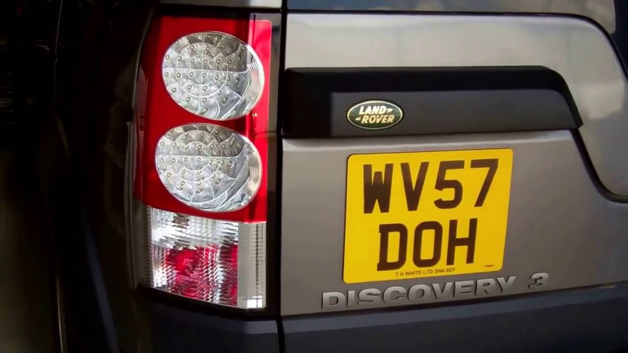how to upgrade rear lights on land rover discovery 3 to discovery 4 led [ 1280 x 720 Pixel ]