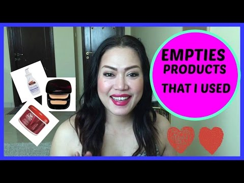 EMPTIES PRODUCT THAT I USED   Candy's Rouge
