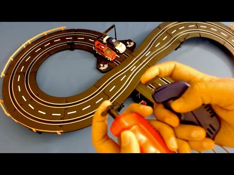 Baby Videos - Road Racing Cars Track Set Playset Toy