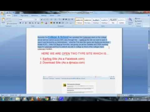 How to hack cyberoam to access the blocked sites4 youtube how to hack cyberoam to access the blocked sites4 ccuart Images