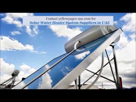 Solar Water Heating Systems in UAE | Solar Water Heater Supplies in UAE