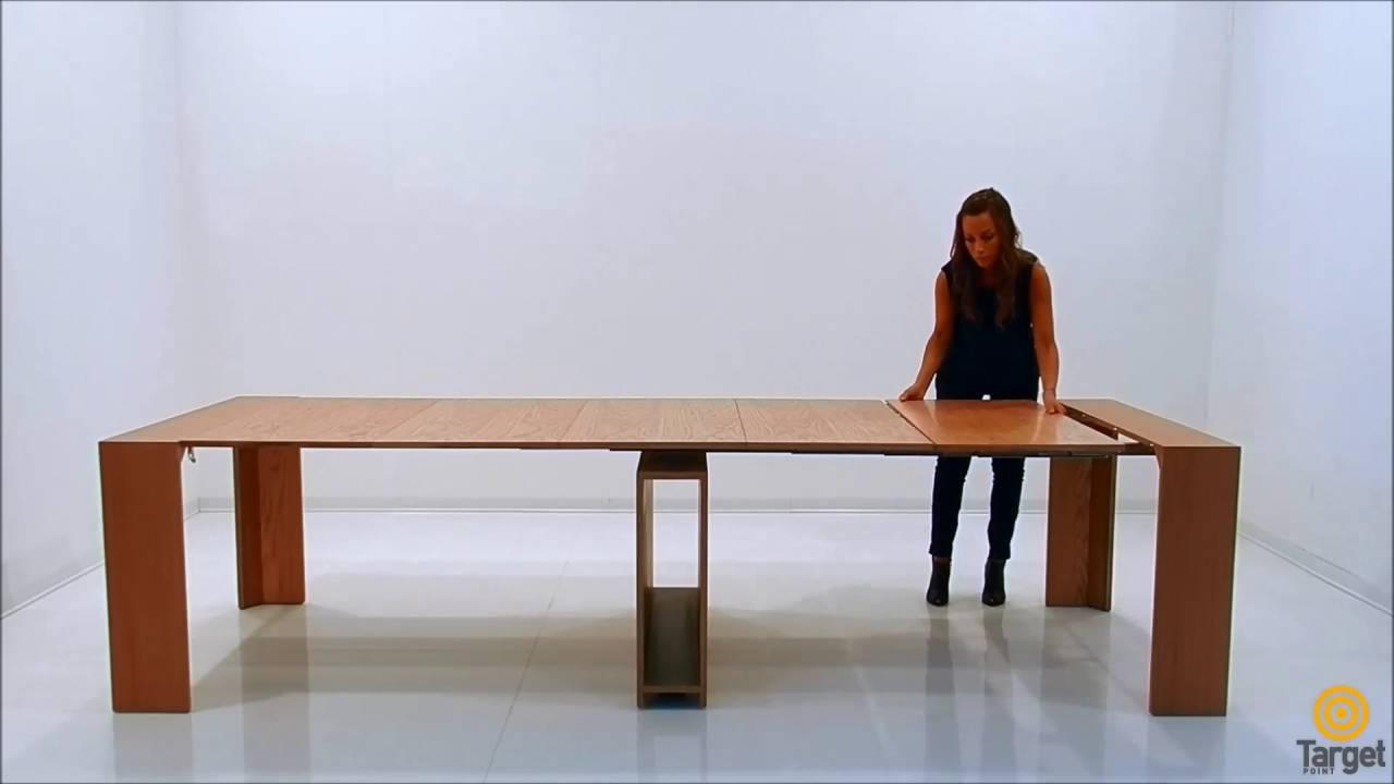 Tavolo consolle allungabile Venere | Target Point - YouTube