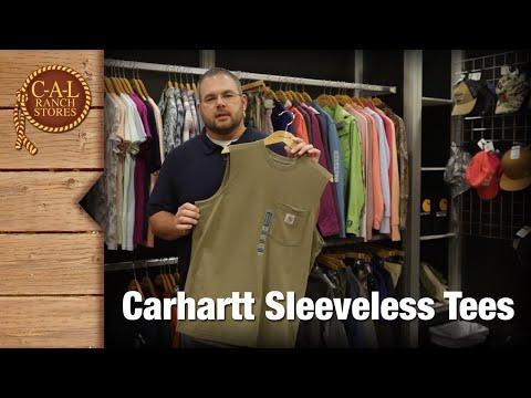 Carhartt Sleeveless Pocket T-Shirts