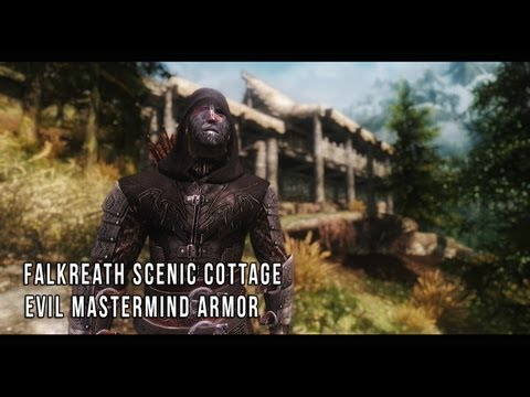 Falkreath Scenic Cottage Evil Mastermind Armor Skyrim