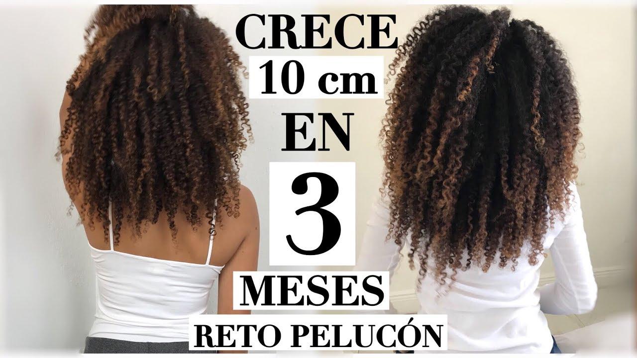 Mi Cabello Crecio 10 Cm En 3 Meses Con El Reto Pelucon Cabello